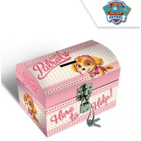 Paw Patrol cardboard jewelry box