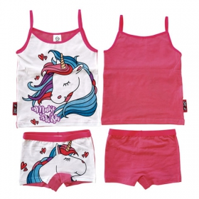 Zaska Unicorn summer pyjama