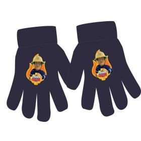 Fireman Sam boys acrylic gloves