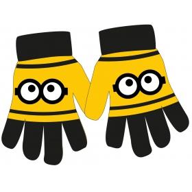 Minions boys acrylic gloves