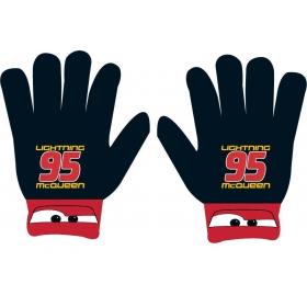 Cars boys acrylic gloves