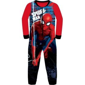 Spiderman boy's fleece jumpsuit