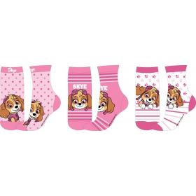 Paw Patrol girls socks 3 pack
