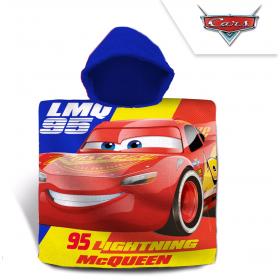 Cars bathing poncho 60x120 cm