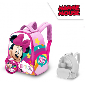 Neoprene backpack with a wallet Minnie Mouse 25 cm