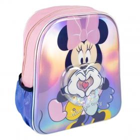 Minnie Mouse LED 3D kindergarten backpack