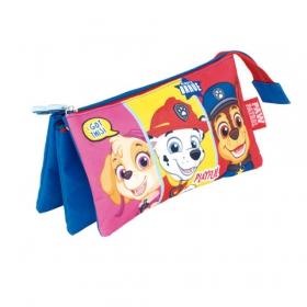 Paw Patrol triple pencil case