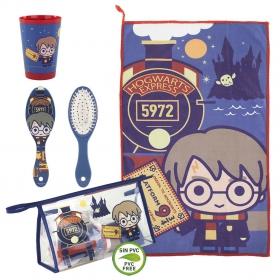 Harry Potter travel set toilet bag