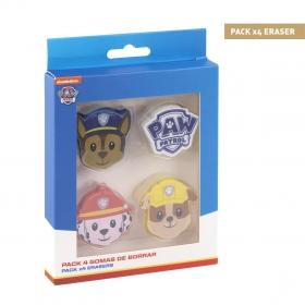 Paw Patrol 3d Puzzle Eraser -  Zuma