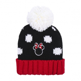 Hat with applications patches Minnie Mouse