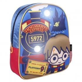 Kids backpack lights 3d Harry Potter