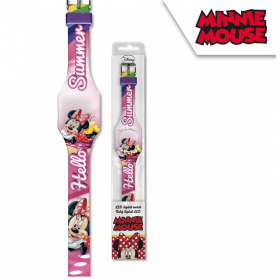 LED Minnie Mouse digital watch