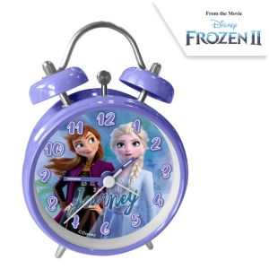 Alarm clock with alarm, 13x9x4 cm Frozen