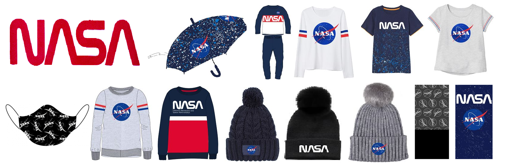 Nasa wholesaler apparel
