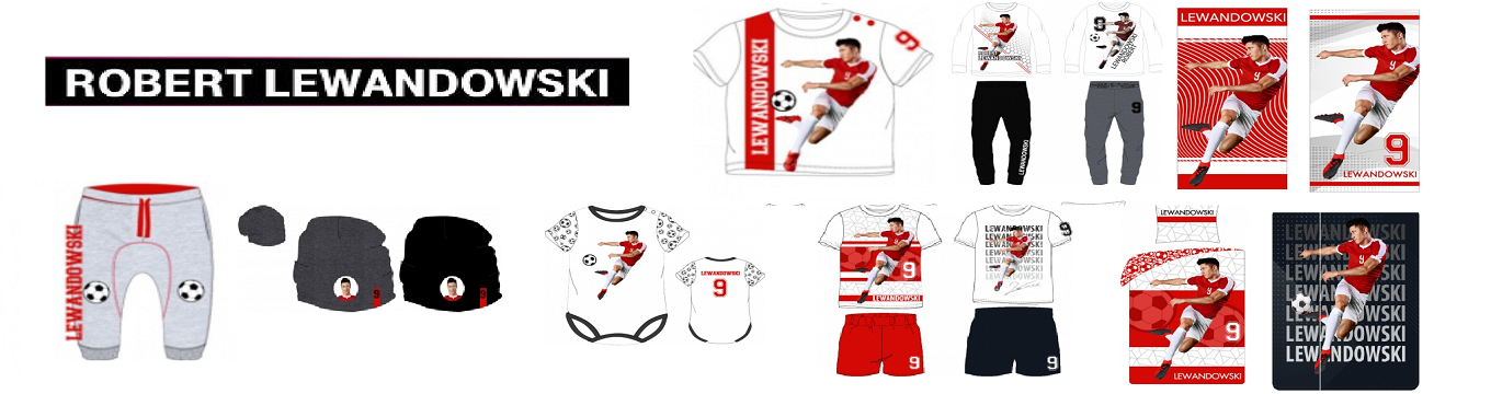 Robert Lewandowski merchansise apparel