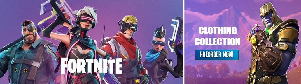 Fortnite clothing wholesale